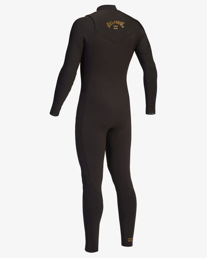 7 3/2 Revolution Chest Zip Full Wetsuit Black ABYW100127 Billabong