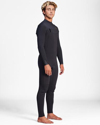 1 3/2 Revolution Chest Zip Full Wetsuit Black ABYW100127 Billabong