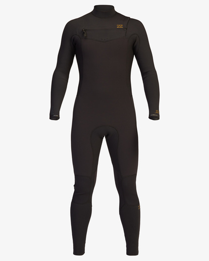1 4/3 Revolution Chest Zip Full Wetsuit Black ABYW100128 Billabong