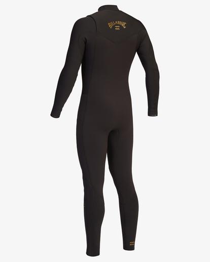 4 4/3 Revolution Chest Zip Full Wetsuit Black ABYW100128 Billabong