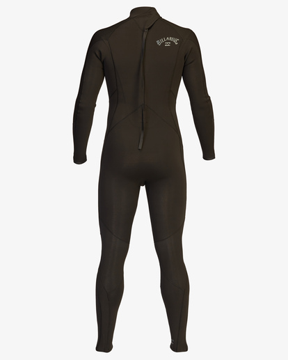 3 4/3 Absolute Back Zip Full Wetsuit Black ABYW100137 Billabong