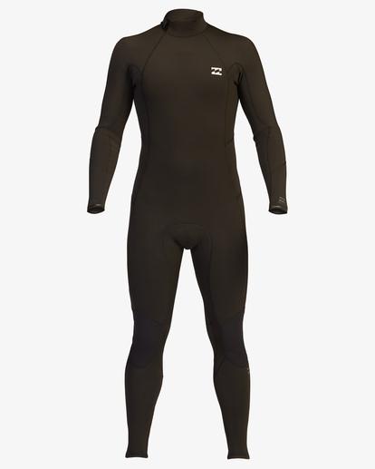 1 4/3 Absolute Back Zip Full Wetsuit Black ABYW100137 Billabong