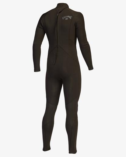 2 4/3 Absolute Back Zip Full Wetsuit Black ABYW100137 Billabong
