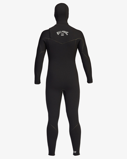 11 5/4 Furnace Chest Zip Hooded Full Wetsuit Black ABYW200102 Billabong