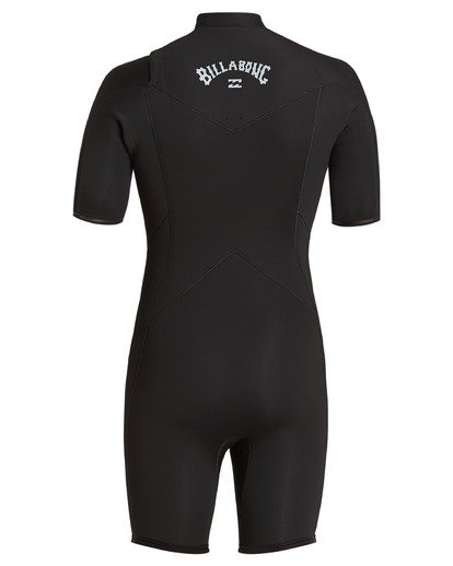 4 2/2 Absolute Chest Zip Spring Wetsuit Black ABYW500100 Billabong