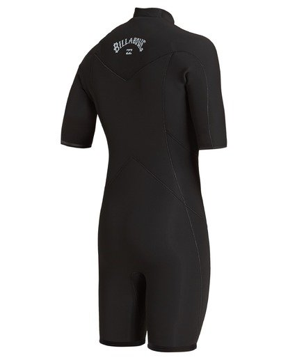 5 2/2 Absolute Chest Zip Spring Wetsuit Black ABYW500100 Billabong