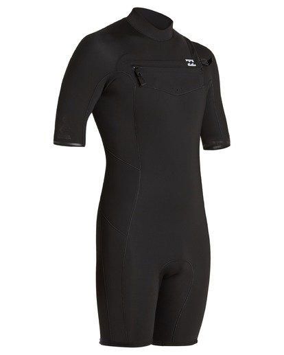 2 2/2 Absolute Chest Zip Spring Wetsuit Black ABYW500100 Billabong