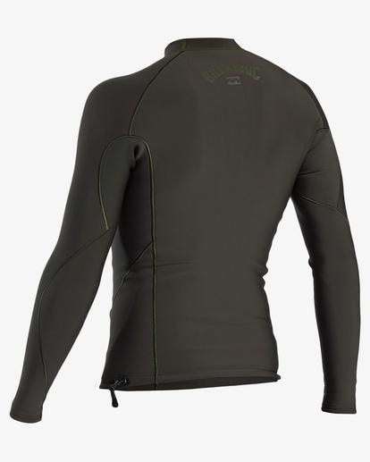 1 1mm Furnace Natural Wetsuit Jacket Blue ABYW800101 Billabong