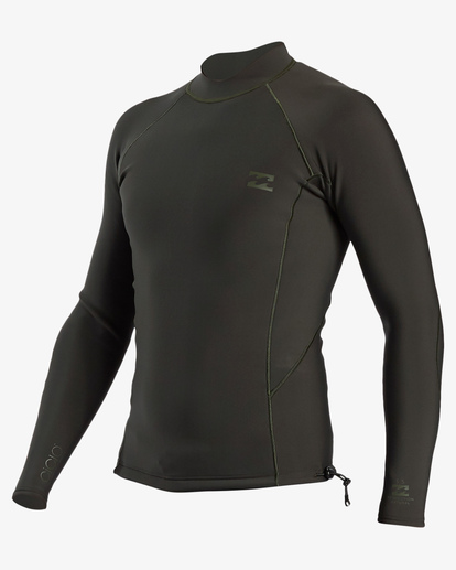 0 1mm Furnace Natural Wetsuit Jacket Blue ABYW800101 Billabong