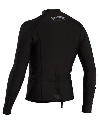 1 2mm Absolute Long Sleeve Jacket Black ABYW800104 Billabong