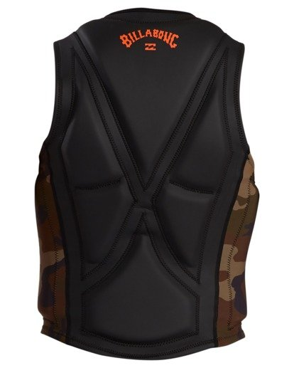 3 Pro Wake Vest Green ABYWP00105 Billabong