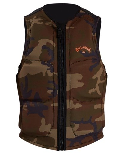 1 Pro Wake Vest Green ABYWP00105 Billabong