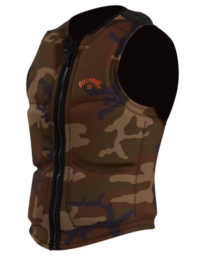 0 Pro Wake Vest Green ABYWP00105 Billabong