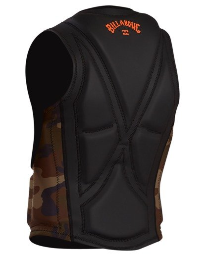 2 Pro Wake Vest Green ABYWP00105 Billabong
