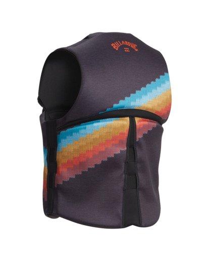 2 T Street CGA Wake Vest Black ABYWP00111 Billabong