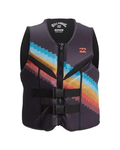 1 T Street CGA Wake Vest Black ABYWP00111 Billabong