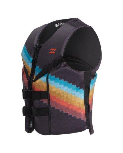 0 T Street CGA Wake Vest Black ABYWP00111 Billabong