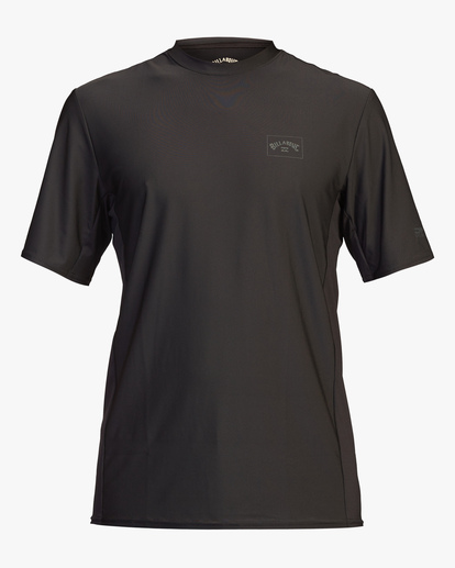 0 Arch Mesh Short Sleeve Rashguard Black ABYWR00100 Billabong