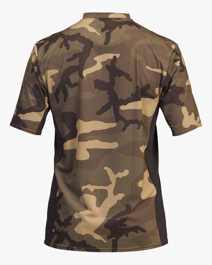 1 Arch Mesh Short Sleeve Rashguard Black ABYWR00100 Billabong