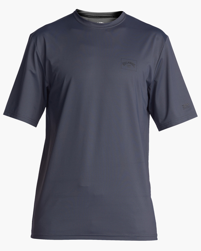 0 Arch Mesh Short Sleeve Rashguard Grey ABYWR00100 Billabong