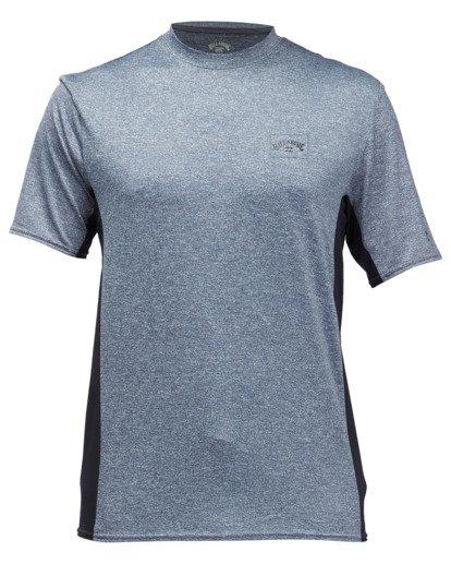 1 Arch Mesh Short Sleeve Rashguard Grey ABYWR00100 Billabong