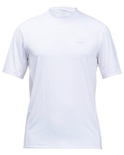1 Arch Mesh Short Sleeve Rashguard White ABYWR00100 Billabong