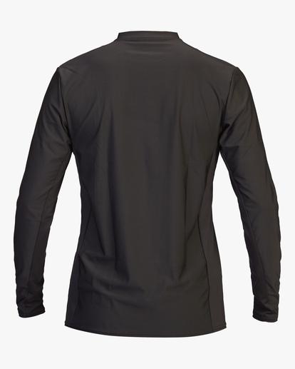 2 Arch Mesh Long Sleeve Rashguard Black ABYWR00101 Billabong