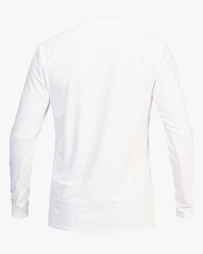 2 Arch Mesh Long Sleeve Rashguard White ABYWR00101 Billabong