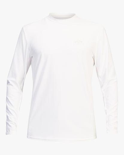 0 Arch Mesh Long Sleeve Rashguard White ABYWR00101 Billabong