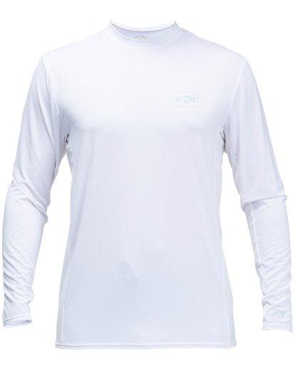 1 Arch Mesh Long Sleeve Rashguard White ABYWR00101 Billabong