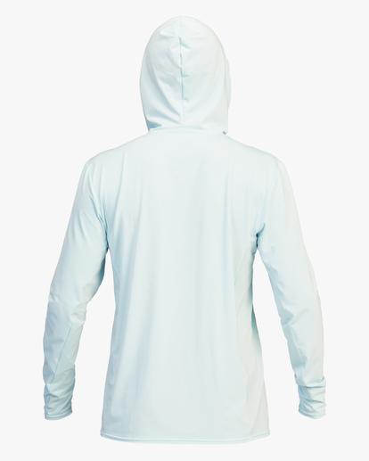 2 Arch Mesh Hooded Long Sleeve Rashguard Brown ABYWR00102 Billabong
