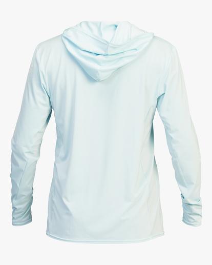 3 Arch Mesh Hooded Long Sleeve Rashguard Brown ABYWR00102 Billabong