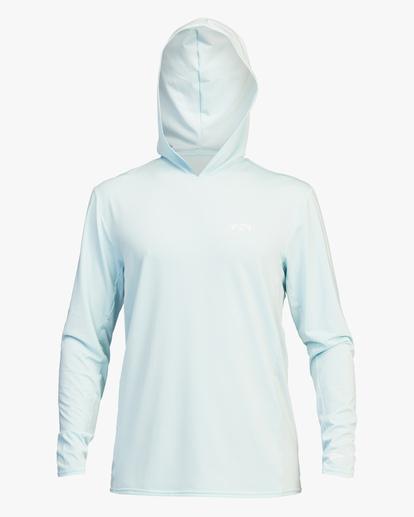 0 Arch Mesh Hooded Long Sleeve Rashguard Brown ABYWR00102 Billabong