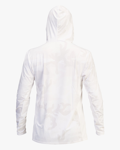 2 Arch Mesh Hooded Long Sleeve Rashguard White ABYWR00102 Billabong