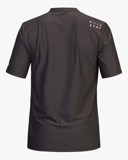 1 All Day Wave Loose Fit Short Sleeve Rashguard Black ABYWR00104 Billabong