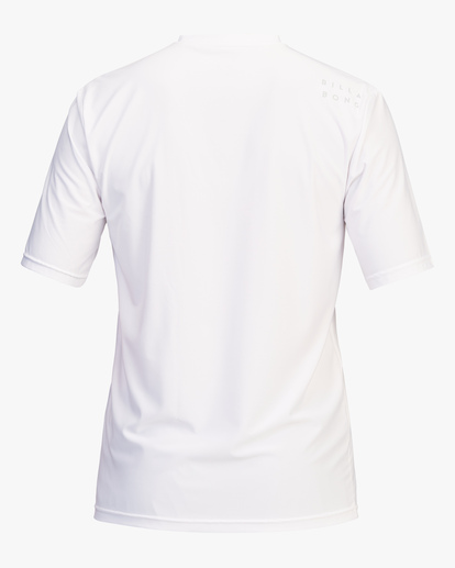1 All Day Wave Loose Fit Short Sleeve Rashguard White ABYWR00104 Billabong