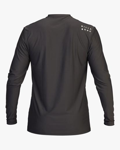 1 All Day Wave Loose Fit Long Sleeve Rashguard Black ABYWR00109 Billabong