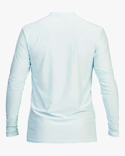 1 All Day Wave Loose Fit Long Sleeve Rashguard Brown ABYWR00109 Billabong
