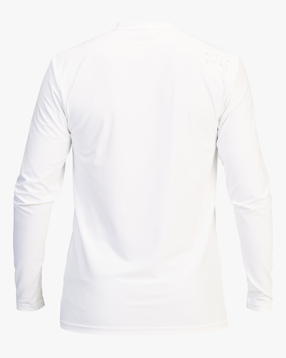 1 All Day Wave Loose Fit Long Sleeve Rashguard White ABYWR00109 Billabong