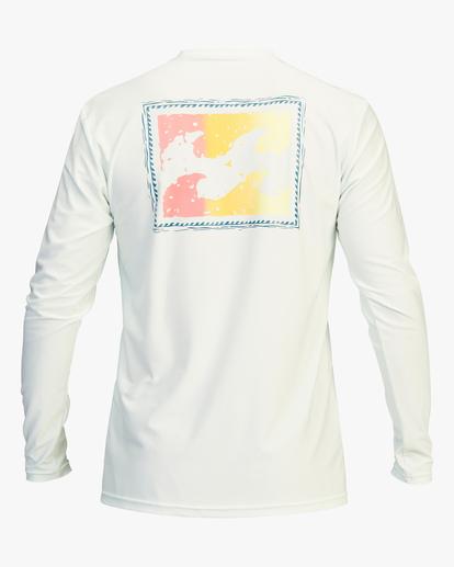 1 Crayon Wave Loose Fit Long Sleeve Rashguard Multicolor ABYWR00112 Billabong