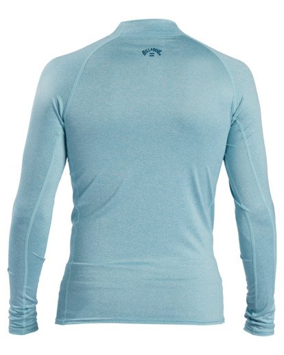 1 All Day Wave Performance Fit Long Sleeve Rashguard Multicolor ABYWR00117 Billabong