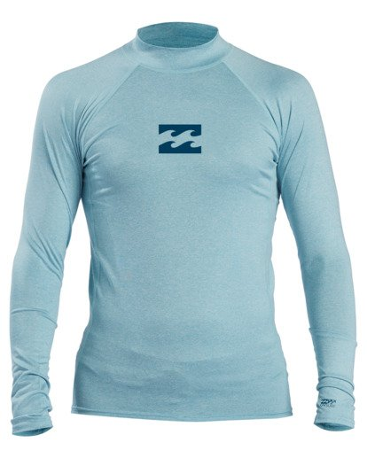 0 All Day Wave Performance Fit Long Sleeve Rashguard Multicolor ABYWR00117 Billabong