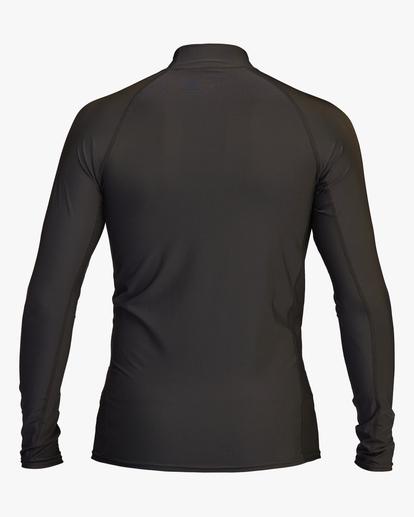 1 Unity Performance Fit Long Sleeve Rashguard Black ABYWR00118 Billabong
