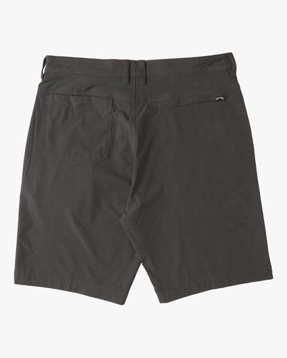 """1 A/Div Surftrek Heather Shorts 20"""" Grey ABYWS00103 Billabong"""