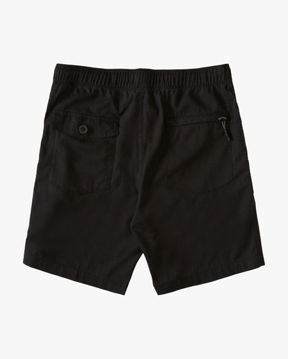 "1 A/Div Surftrek Hemp Short 18"" Black ABYWS00108 Billabong"