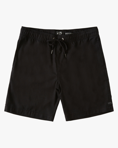 "0 A/Div Surftrek Hemp Short 18"" Black ABYWS00108 Billabong"