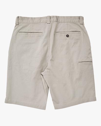 "1 Carter Stretch Shorts 21"" Grey ABYWS00121 Billabong"