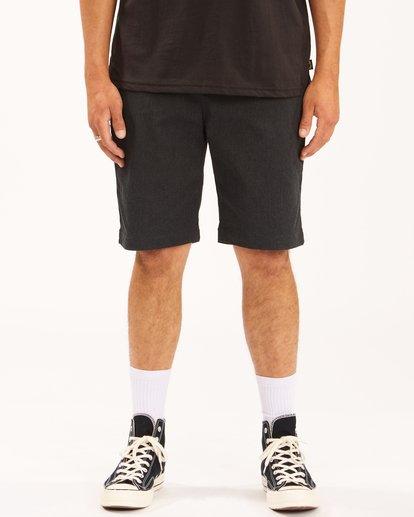 "2 Carter Stretch Shorts 21"" Black ABYWS00121 Billabong"