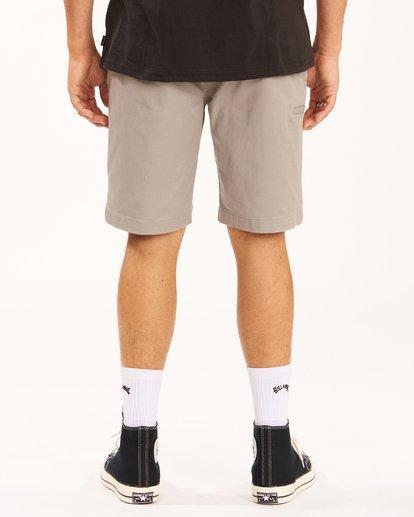 "5 Carter Stretch Shorts 21"" Grey ABYWS00121 Billabong"