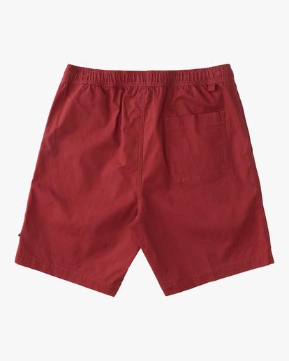 "1 Larry Layback Short 17"" Red ABYWS00137 Billabong"
